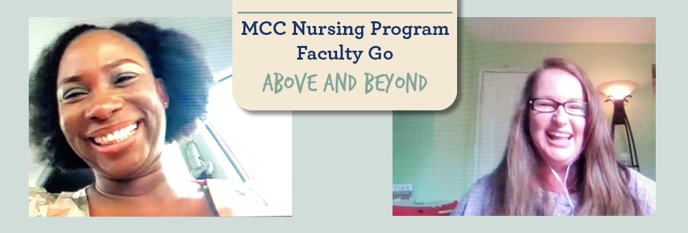 MCC Nursing Program Faculty Go Above and Beyond