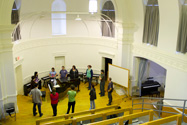 Photo of students in concert hall
