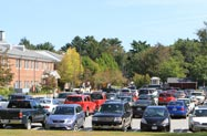 Bedford campus parking lot