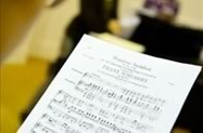 Photo of sheet music