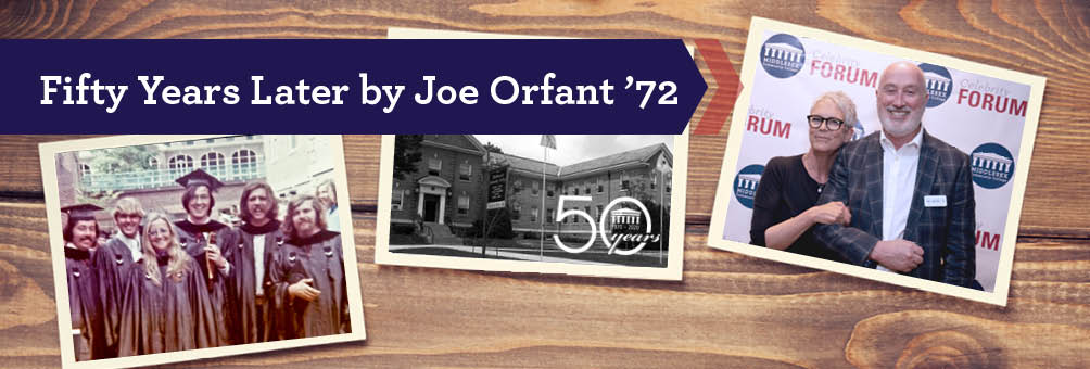 Photos from Alum Joe Orfant '72 - Reflects on 50 Years