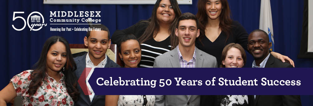 Middlesex Community College Celebrates 50 Years of Student Success