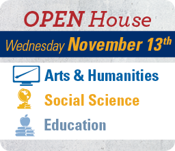 Open House November 13th