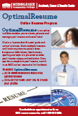 Image of Optimal Resume pdf flier