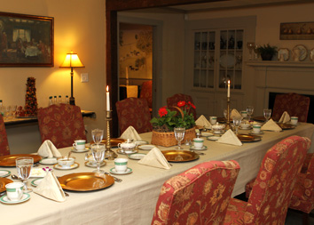 Dining room at Meeting House