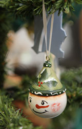 MCC Craft Fair - Snowman Ornament