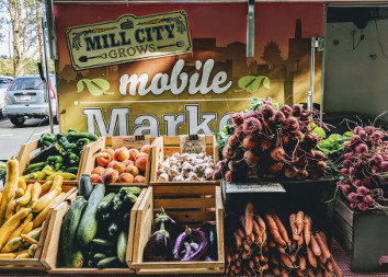 Mill City Grows mobile Market