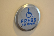 Picture of door opening button
