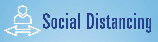Social Distancing Button