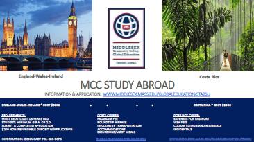 MCC Study Abroad Summer 2016