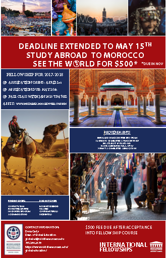 Morocco Fellowship Poster