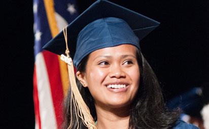 Smiling MCC Graduate