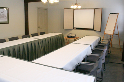 Training room at meeting house