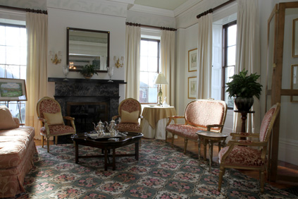 Sitting area in Nesmith House
