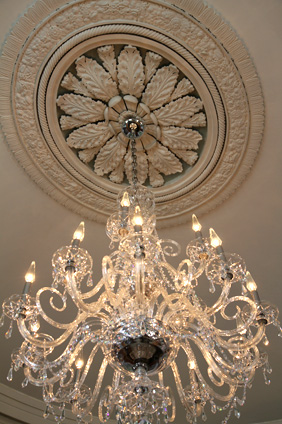 Chandelier at Nesmith House