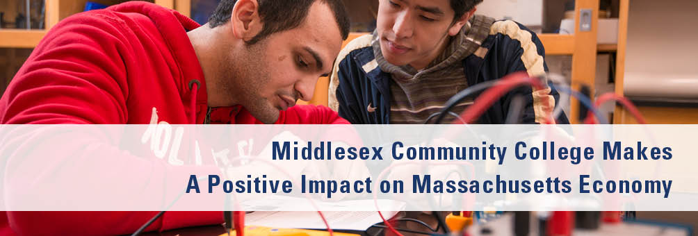 MCC Student in an Engineering Class - Middlesex Community College Makes A Positive Impact on Massachusetts Economy