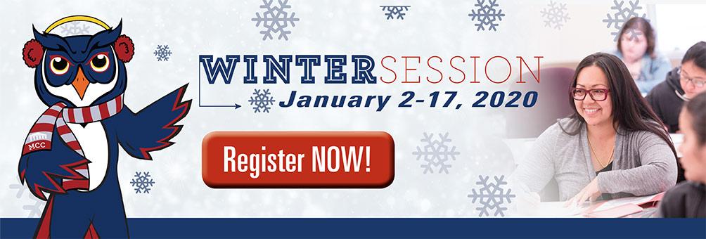 Wintersession Starts January 2