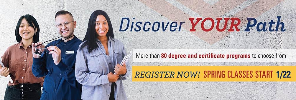Spring Semester Starts January 22