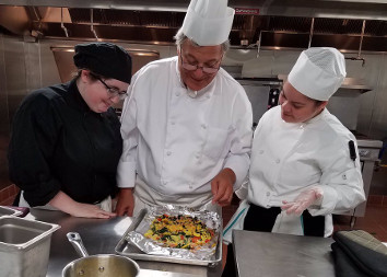 Photo of Culinary Students