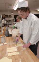 Photo of Student Baking
