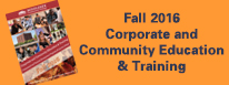 Fall 2016 Corporate and Community Ed