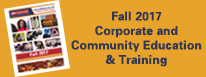 Fall 2017 Corporate Education & Training