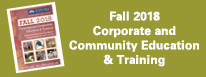 Fall 2018 Corporate Education & Training