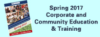 Spring 2017 Corporate and Community Education and Training