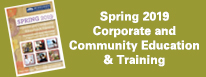 Spring 2019 Corporate Education & Training