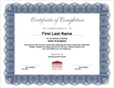 Certificate Template Thumbnail