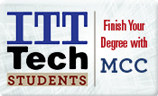 ITT Tech Students Finish Your Degree with MCC
