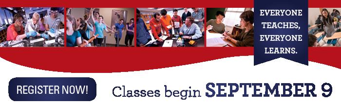Register for Fall Semester