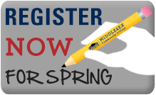 Register Now for Spring