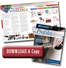 Profiles Magazine Download Button