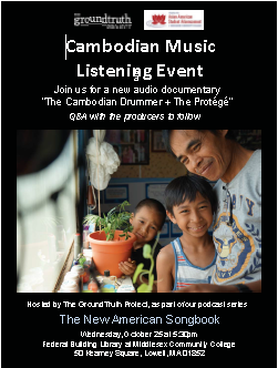 Cambodian Music Listening Event
