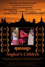 Flyer for Angkor's Children