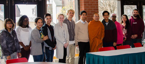 Photo of ASIA Group students