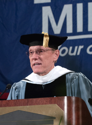 President Mabry - Commencement 2015