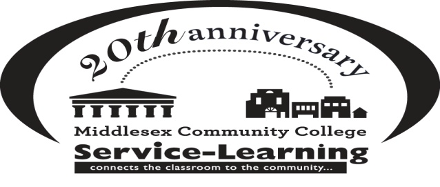 Service Learning 20th Anniversary Logo