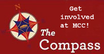 The Compas logo click to enter