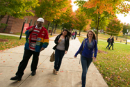 MCC students on the Bedford campus