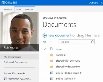 OneDrive Image Video Link