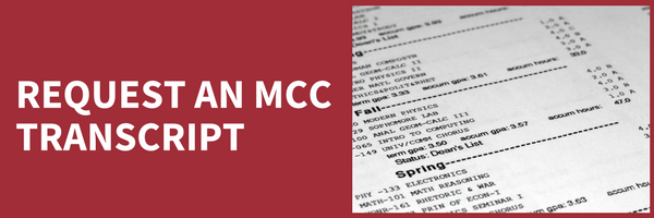 request an MCC transcript