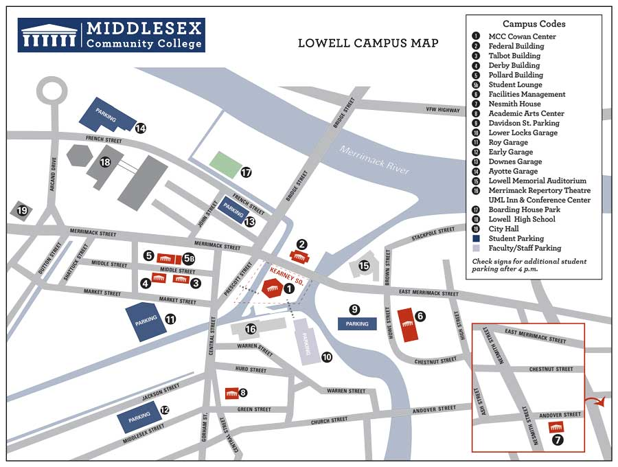 Lowell Map