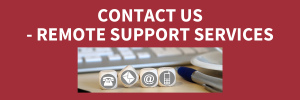 Contact us. Remote support services.